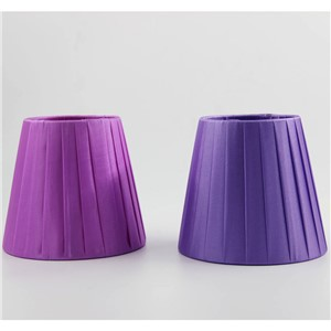 DIA 12cm/ 4.21inch  Mini Lampshades,Off White Color/Light Pruple Color/Cool White Color/Purple Color,Clip On