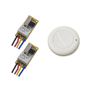 Top Sale Micro Relay Wireless Remote Control Switch Smart Home RF Mini Receiver Transmitter DC 3.7V 5V 9V 4.2V 12V 315/433mhz