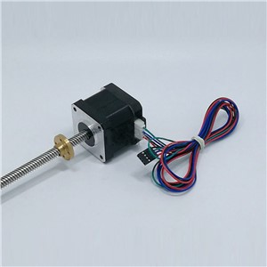 CNC Geared Stepper Motor 42 Wire Stepping Motor High Torque Low Noise For 3D Printer Machine