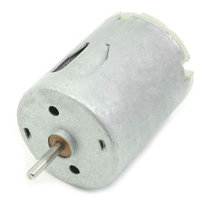 DC 9V 20000RPM Rotary Speed Cylinder Shape Magnetic Motor, Silver Gray