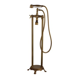 Contemporary Sumptuous Delicate Antique Brass Shower Faucet Single Handle Hot Cold Water Excellent Shower Faucet