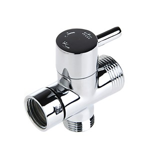 T-adapter 3 Ways Valve For Diverter Bath Toilet Bidet Sprayer Shower Head