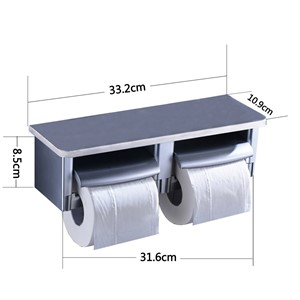 Bathroom Toilet Paper Holder Bathroom Tissue Accessories with Phone Holder