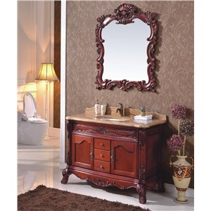 New Design Classical Style Wood Bathroom Cabinet 0281-B-8603