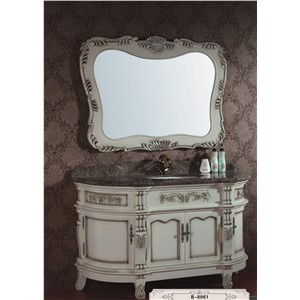 Hot Sale European Style  Carved Wooden Bathroom Cabinet  0281-B-8061