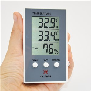 Thermometer Hygrometer Measure Temperature Humidity Digital LCD Meter Indoor Outdoor Weather Station Tester C/F Max Min Value