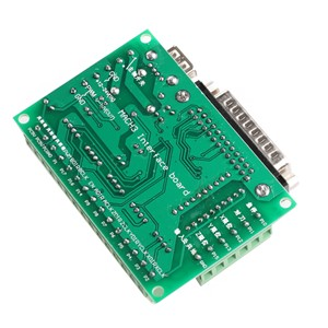 5 Axis CNC Breakout Board With Optical Coupler for MACH3 Stepper Motor Driver  -Y122