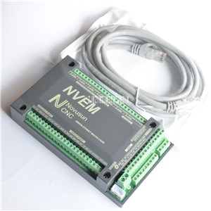New Arrival DNEM 6-Aixs 200KHZ Ethernet MACH3 Card Stepper Motor Control for CNC Machine