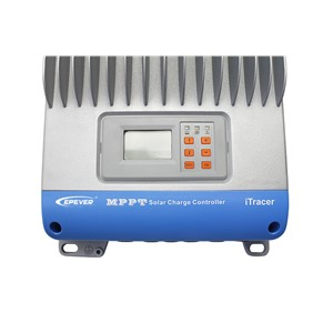 Solar solar panels batteries charger mppt 60A IT6415ND with white MT50 remote meter and wifi BLE box Max Pv Input 150v