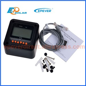 MPPT 30A Tracer3210CN with MT50 remote meter solar regulator+USB and temperature sensor for 12v/24v auto type
