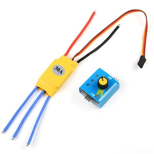 1pc 3-phase Brushless Motor Speed Controller Mayitr High-Power PWM Control Regulator DC 12V 30A