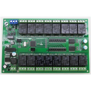 16 channel relay switch module board motor controller Intelligent home system RS485 controller 14pcs power + 4pcs boards