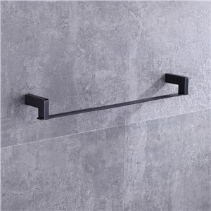 Ulgksd Black BrassBath Towel Shelves Bathroom Ancessories Towel Racks  Copper Bathroom Hardware Wall Mounted Towel Holders