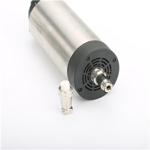 1.5kw spindle kit 220v 80mm 1500w CNC milling spindle motor+1.5kw inverter+80mm spindle clamp