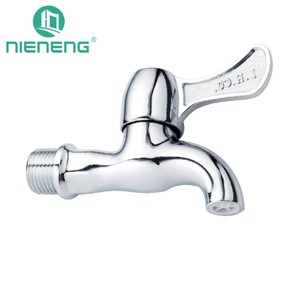 Nieneng Garden Mixer Bibcock Tap Wall Mount Faucet Sink Faucets Small Outdoor Mop Pool Taps Bib Cock Garden Accessories ICD60500