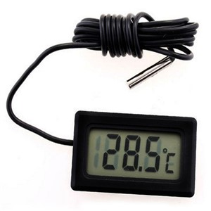 New Mini Digital LCD Thermometer Temperature Sensor Fridge digital measuring instruments digital thermometer with remote sensor
