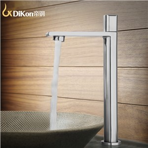 DiKon LM13 Bathroom Basin Water Faucet Simple Style 304 Stainless Steel Single Tap Water Saver Spray Sink Water Faucets