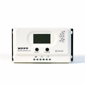 Wiser 50A MPPT solar charge controller 12V/24V auto recognition Max. DC150V PV input with RS232 and 5V USB interfaces
