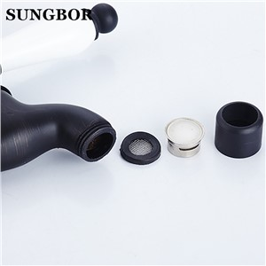 Retro Euro Style Oil Rubbed Bronze Single Ceramic Handle Toilet Bibcocks Wall Mount Washing Machine Faucet torneira SY-1212H