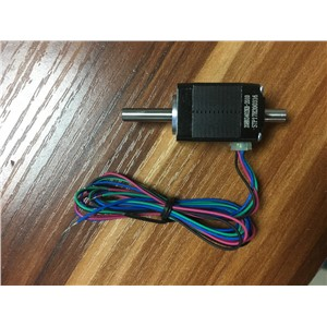 Stepper motor nema hollow shaft 8 20 Hybird 2 phase  0.8A 1.8 4 wire,length 30mm 3D printer accessories 20HB3402KB-2010