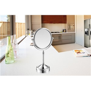 Nieneng 8 inch Bathroom Mirror Adjustable Make Up Mirror Dual 2 Sides Cosmetic Bath Mirror Decoration 7x 10x Magnifying ICD60529