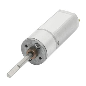 Hot DC 9V 600rpm High Torque Rotary Speed Reduce Electric Geared Box Motor Gray+Silver