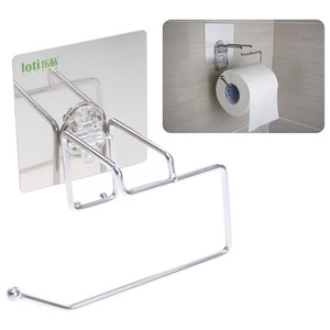 Paper Holders Seamless Stainless Steel Simple Paper Towel Racks Creative Toilet Roll Paper Bathroom Racks Bathroom Hardware