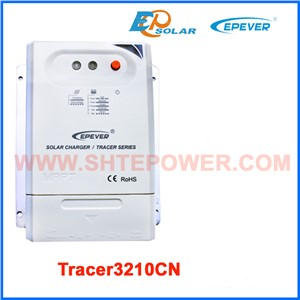 track mppt 30A solar battery charger controller Tracer3210CN temperature sensor cable luetooth function connect APP phone EPEVER