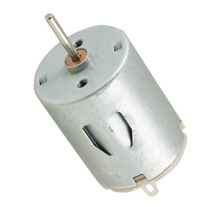 LIXF HOT DC 6V 6300RPM 2mm Shaft Magnetic Mini Motor for DIY Toys Hobby, Silver