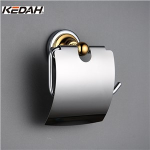 KEDAH Toilet Paper Holders Chrome Plated with Metal Hardware Accessories KD9107