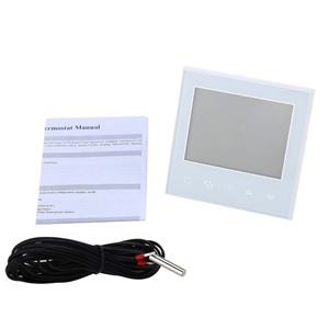 SeeSii Programmable Thermostat Heating WiFi 16A 110V 230V App LCD Touch Screen Temp Temperature Control Underfloor