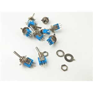 MTS102 shook his head 3 foot 2 rocker switch gear SMTS 102 toggle switch toggle switch SMTS-102
