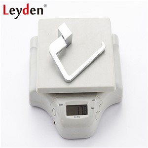 Leyden 304SUS Stainless Steel Toilet Roll Holder Toilet Tissue Holder Wall Mounted Toilet Paper Holder Chrome Bathroom Accessory