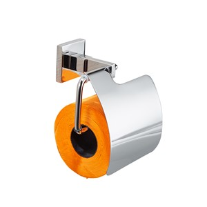 AUSWIND modern silver 304 Stainless steel toilet paper rack hand carton toilet paper box roll paper box paper holder bathroom