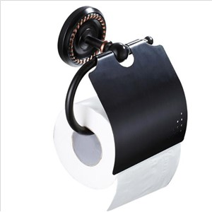 Wall Mounted Antique Black Oil Finish Bathroom Accessories Toilet Paper Holder bathroom toilet paper roll holder Tissue holder