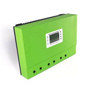LCD mppt solar controller 12V 24V 36V 48V 80A 100A PV regulator charge Sealed Lead Acid
