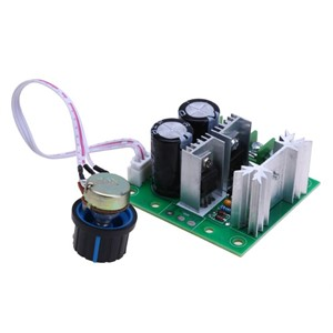Universal DC 12-40V 400W 10A Adjustable PWM DC Power Speed Regulator Controller with Switch PWM Controller