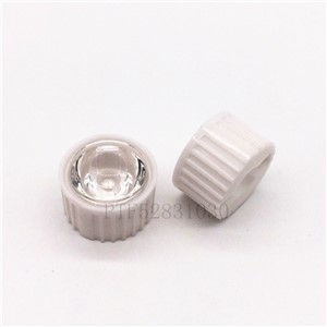 10pcs 5/8/15/25/30/45/60/90/120 degrees LED Lens With white Holder For 1W 3W 5W High Power LED Lamp Light
