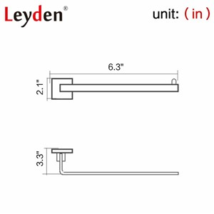 Leyden Stainless Steel Toilet Paper Holder Chrome Toilet Paper Roll Holder Wall Mounted Toilet Paper Roller Bathroom Accessories