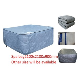 HOT TUB SPA  Insulated COVER BAG 210x210x90cm  Insulated UV Weatherproof
