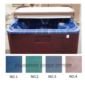 Spa Cover leather only Strong Hot tub cover skin only replacement vinyl any size, shape, swim spa cover leather bag