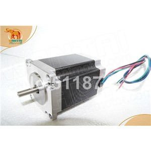 Hot Sale! Wantai 4-lead Nema23 Stepper Motor 57BYGH627 270oz-in 76mm 3.0A CE ISO ROHS CNC Router Grind Foam Mill Laser Printer