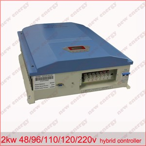 LCD display, 2kw  48/96/110/120/220v  wind solar hybrid charge controller