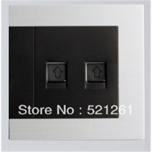 DIANQI wall switch touch light switch access control the switches   computer and telephone socket
