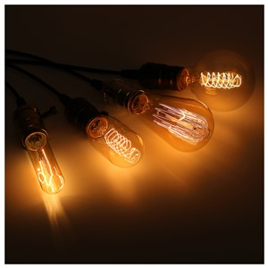 Retro Lamp E27 Vintage Filament Light 220V Incandescent Bulb Spiral Fairy Light LED Edison Bulb Lampada Ampoule Bombillas