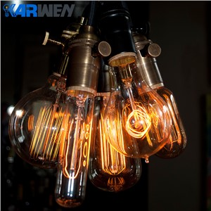 KARWEN Vintage Edison Bulb G80 G95 ST64 220V 40W Incandescent Bulbs E27 Filament Retro Edison Light For Pendant Lamp Decoration