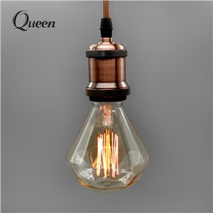 Edison Diamond Vintage Light Blub E27 220V Edison Lamp 40w Lampada Pendant Lights Incandescent Bulb Retro Lamp Outdoor Lighting