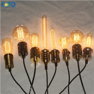 Edison Incandescent Light Bulbs E27 Lamp Holder 110V/240V 2300K Vintage Decoration Warm Lights 40W-60W