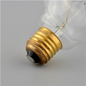 Vintage Vetro Tungsten Filament E27 Globe Edison Light Clear Bulb Incandescent Replacement 60W G125
