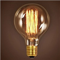 E27 G95 Retro Vintage Edison Bulb Various 40W 60W Incandescent Filament Bulb Lamp Lighting